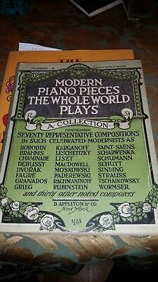 VINTAGE PIANO PIECES The Whole World Plays, Number 2, 1918