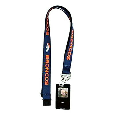 bb99969b DENVER BRONCOS LANYARD Soft Touch Keychain W/ Neck Release & Clip Nfl  Licensed