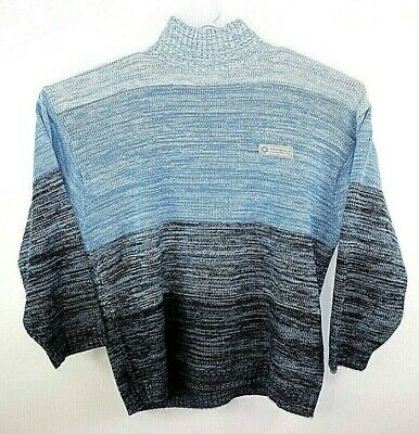 9eff24ac98 SOUTHPOLE VINTAGE MENS Multi Blue Turtleneck Sweater Size 4XL ...