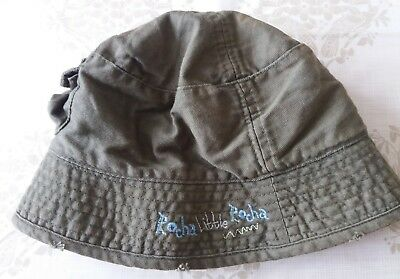 Baby Boys Khaki Bucket Bush Sun Hat Size Age 9-18 Months Debenhams Little  Rocha d695be7acb27