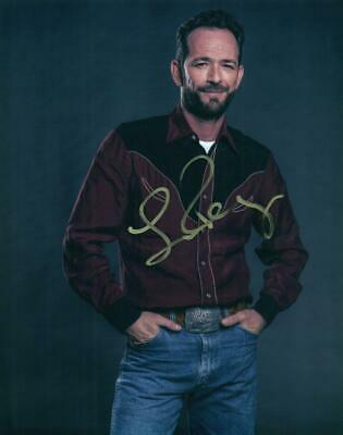 Luke Perry 8x10 signed photo autographed Picture + COA