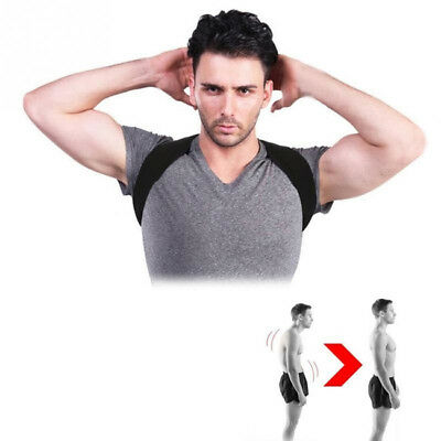 Posture Clavicle Support Corrector Back Straight Shoulders Brace Strap B