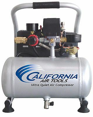CALIFORNIA AIR TOOLS 1P1060S Light & Quiet Air Compressor-USED