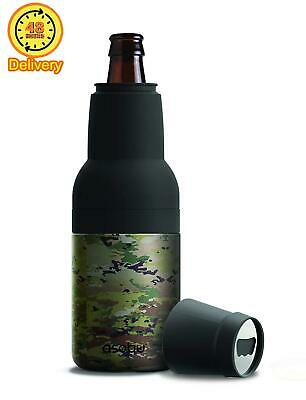 Asobu Frosty Beer 2 Go Vacuum Insulated Double Walled Stainless Steel Beer Bottl