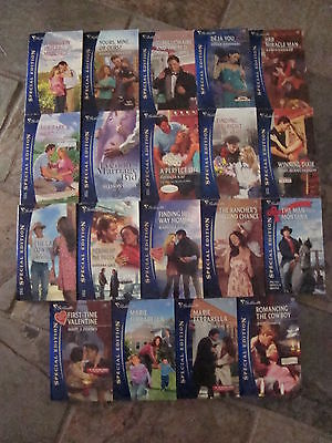 Silhouette - Bulk Lot Of 19 Special Edition Books