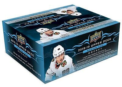 2018-19 Upper Deck Series 2 hockey cards Sealed 24 Pack Retail Box