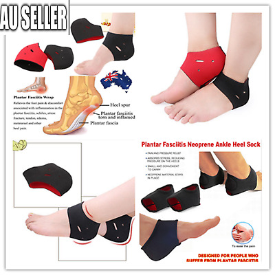 Plantar Fasciitis Support Protector Heel Arch Brace Foot Pain Relief Wrap S,M,L