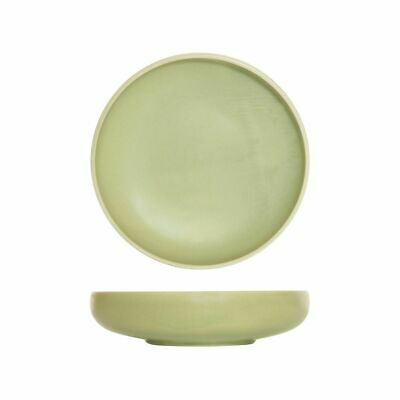 6x 1200ml Share Bowl Earth Green Round Small Moda Lush Cafe Commercial NEW