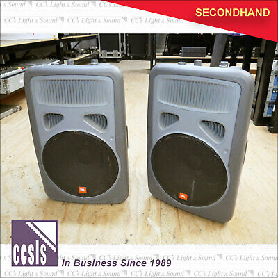 "JBL EON15 15"" Powered SubWoofer Grey 250w - Sold as a Pair"