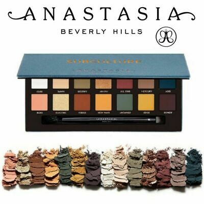 Anastasia Beverly Hills ABH Subculture Eye Shadow Make Up Palette UK