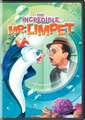 THE INCREDIBLE MR LIMPET Sealed New DVD Don Knotts