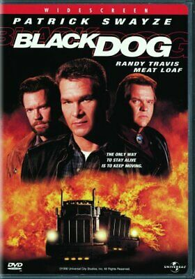 BLACK DOG New Sealed DVD Patrick Swayze