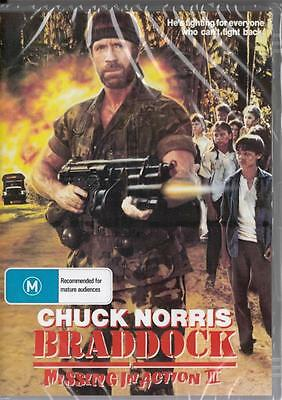 Braddock Missing In Action 3 - Chuck Norris - New & Sealed Dvd - Free Local Post