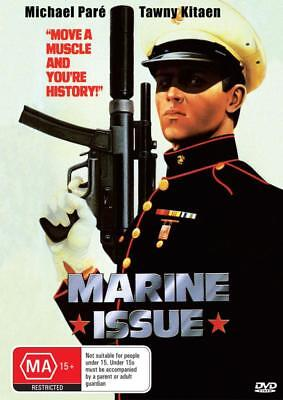 Marine Issue Aka Instant Justice - Michael Pare - Dvd  Free Local Post