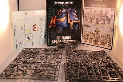 NoS Warhammer 40K Dark Imperium Space Marines Army models Primaris Space Marines
