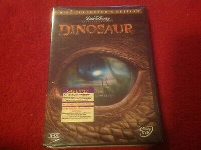 Walt Disney Dinosaur: 2 Disc Collector's Edition  DVD! Brand New! Sealed! Mint!