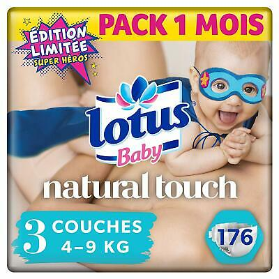 176 couches LOTUS taille 3 (4*44)