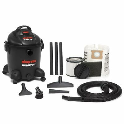 Shop Vac Pump vac Wet and dry vacuum cleaner with built-in water pump