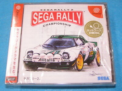 SEGA RALLY 2 SEGA DREAMCAST NTSC-J NEW Factory Sealed