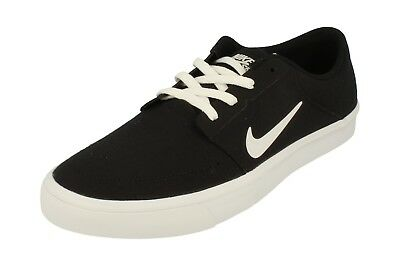 on sale aba3d f97ec Nike Sb Portmore Canvas Mens Trainers 723874 Sneakers Shoes 001