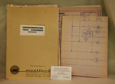 Montford Instruments Limited. Environmental Test Chamber Handbook & Diagrams