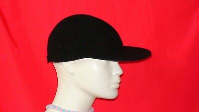 e07344b179009 EDDIE BAUER SOFT Black Fleece Baseball Cap! -  2.70