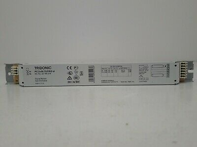 TRIDONIC 22 185 218 PC 2x58 T8 PRO sl digital ballast not dimmable 2x58W 2x55W