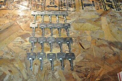 LOT OF 20 Lot of ASSA Twin Exclusive / 6000 Keys SS Prison Jail Detention LOCK