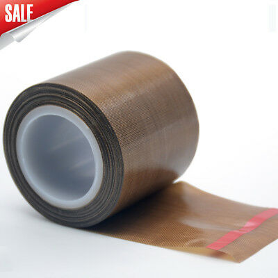 PTFE Teflon Tape Heat Seal Self Adhesive Vacuum Packer Fiberglass Adhesive Tape