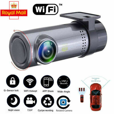 HD 1080P Wifi USB Car DVR Caméra Mini DashCam Recorder Night Vision enregistre