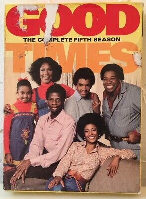Good Times ~ Complete Fifth and Sixth Season ~ DVD ~ 3-Disc Set for each Season