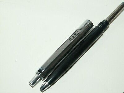Paper Mate 'profile' Ballpoint Pen. Black/chrome Plated Cap. Excellent Used Cond