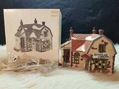 Dept 56 Heritage Village Collection Dickens Village Series Booter and Cobbler 59