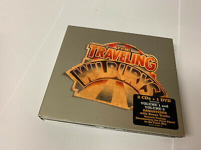 The Traveling Wilburys  (2007). 2 CD + 1 DVD 3 DISC W BKLT NRMINT/EX W