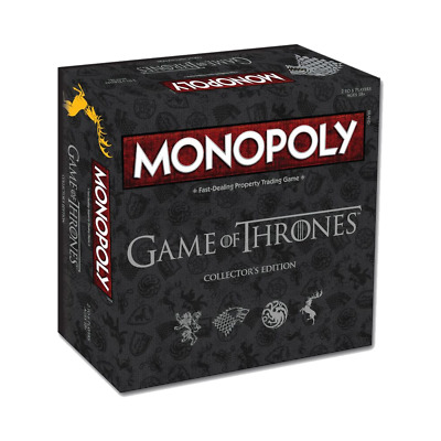 Monopoly - Game of Thrones Edition Board Game - Loot - BRAND NEW
