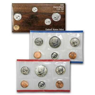1985 United States Uncirculated Mint set