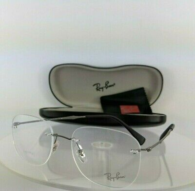 87ed191be Brand New Authentic Ray Ban Eyeglasses RB 8748 1128 52mm Matte Grey Frame  R8748