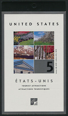 Canada 2001 Booklet Sc# BK243b Tourist Attractions  (US)