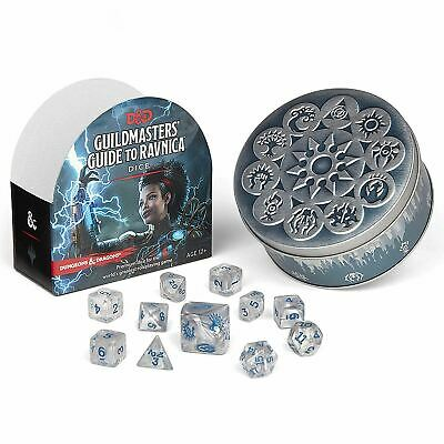 Dungeons & Dragons D&d Guildmasters Guide To Ravnica Dice Set