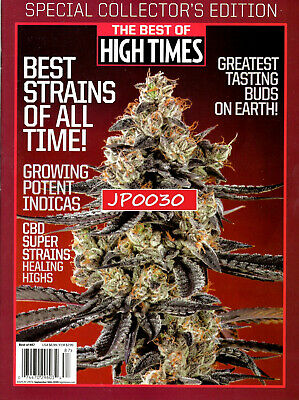 Best Of High Times 2019 #87, Best Strains Of All Time, New/Sealed, Collector's