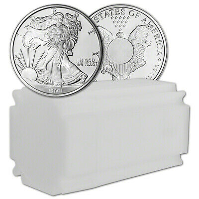 1 oz. Silver Round - Sunshine Liberty - .999 Fine (Lot, Roll, Tube of 20)