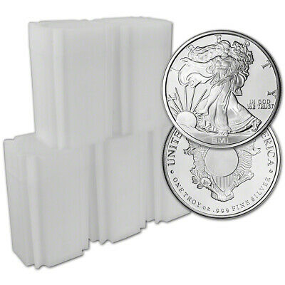 100-pc. 1 oz. Silver Round - Sunshine Liberty - .999 (Lot, Rolls, 5 Tubes of 20)
