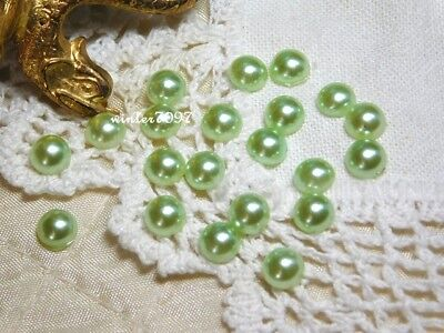 (264)*Costume Makers Sellout*Flat Back Jewels*Green *Round*New!*