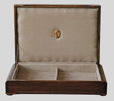 Fountain Pen Storage Display Chest, #621, Hand-Crafted, Mahogany, 22 Pens, Usa
