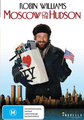 Moscow On The Hudson - Robin Williams - New Region 4 Dvd - Free Local Post