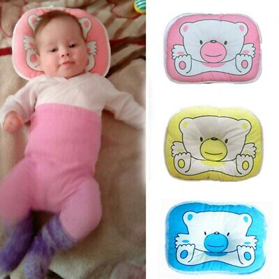 Baby Infant Pillow Newborn Anti Flat Head Syndrome for Crib Cot Bed Neck Support