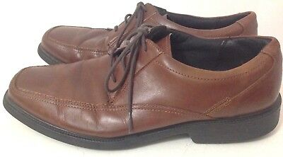 1cb9ffe4c1 BOSTONIAN FLEXLITE IPSWICH Lace-Up Leather Brown Oxford Mens Size ...