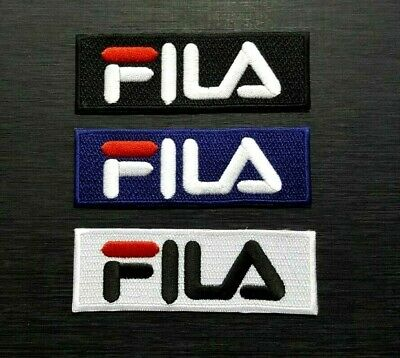 FILA SPORTS BRAND F BJ SHOES BAG CAP HAT BADGE Embroidered