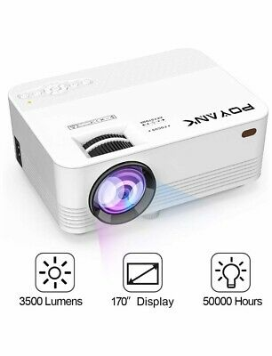 [WIFI Projector] POYANK Projector, Mini Wifi Projector, Video Projector Supports