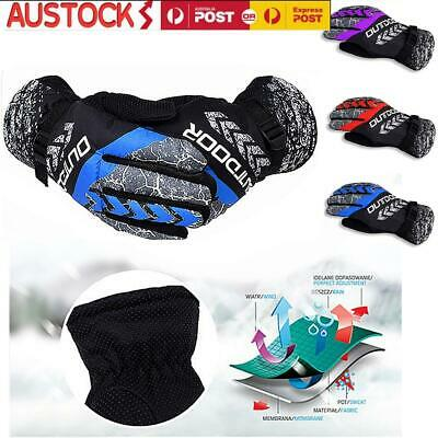Men Women Winter Sports Gloves Warm Thermal Waterproof Ski Snow Snowboard Gloves